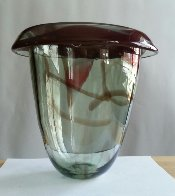 Untitled Early Glass Vase Sculpture 1978 Sculpture by Howard Ben Tre - 1