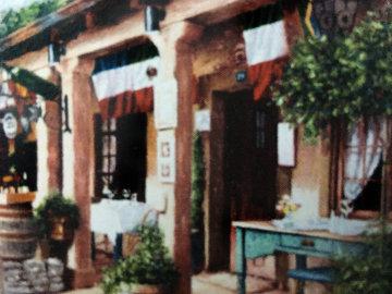 Cafe De France Limited Edition Print - Stephen Bergstrom