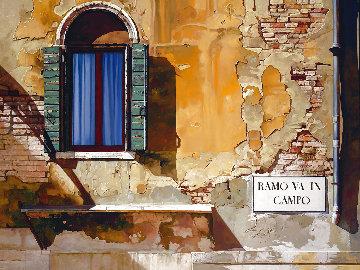 Ramo Va in Campo 2005 42x52 Huge Original Painting - JB Berkow