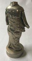 Mini-Cariatide Metal Sculpture 1969 6 in Sculpture by Miguel Ortiz Berrocal - 3