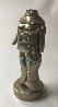 Mini-Cariatide Metal Sculpture 1969 6 in Sculpture by Miguel Ortiz Berrocal - 2