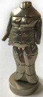 Mini-Cariatide Metal Sculpture 1969 6 in Sculpture by Miguel Ortiz Berrocal - 0