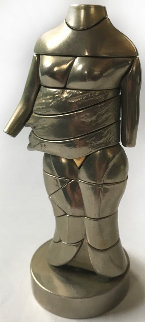 Mini-Cariatide Metal Sculpture 1969 6 in Sculpture - Miguel Ortiz Berrocal