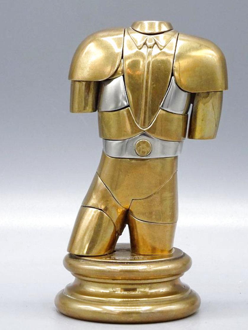 Manolete Bronze Sculpture 1975 5 in Sculpture by Miguel Ortiz Berrocal
