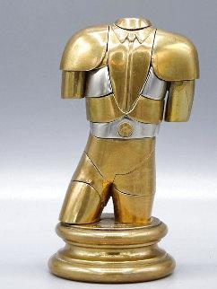 Manolete Bronze Sculpture 1975 5 in Sculpture - Miguel Ortiz Berrocal