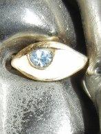 Portrait De Michele Bronze Sculpture Sculpture by Miguel Ortiz Berrocal - 1