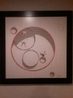 Je Vole 2005 Embellished on Board Limited Edition Print by Philippe Bertho - 1
