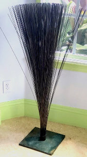 #13 Bronze and Copper Sculpture 1967 45 in Sculpture - Harry Bertoia