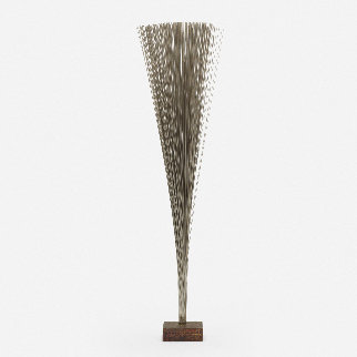 Spray Bronze Unique Sculpture 1979 37 in Sculpture - Harry Bertoia