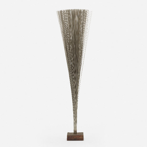 Spray Bronze Unique Sculpture 1979 37 in Sculpture by Harry Bertoia