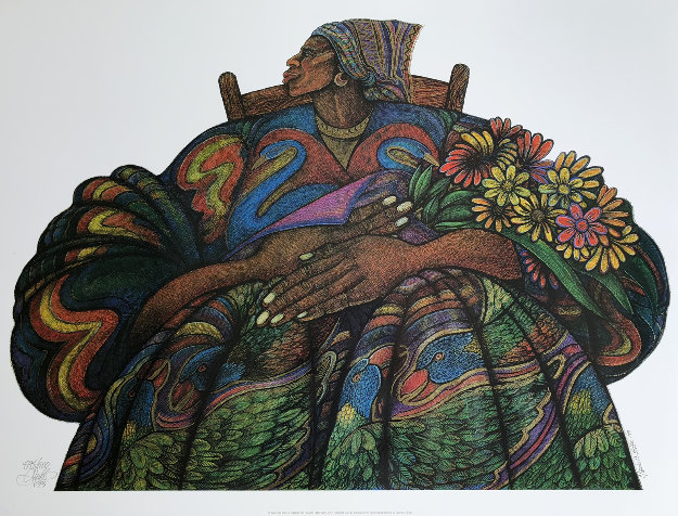 Mother Love 1993 Limited Edition Print by Charles Bibbs