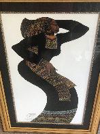 Lady in Black III AP 1996 Limited Edition Print by Charles Bibbs - 1