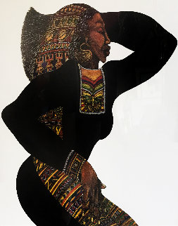 Lady in Black III AP 1996 Limited Edition Print - Charles Bibbs