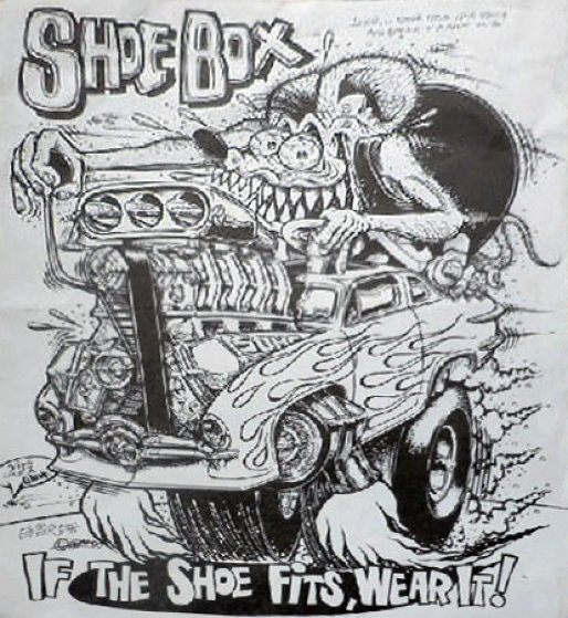 Shoebox If The Shoe Fits Wear It Unique1993 By Big Daddy Ed