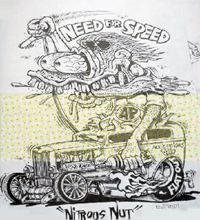 Bundle of 4 Prints Various Titles annotated by Ed Big Daddy Roth  Limited Edition Print by Big Daddy Ed Roth