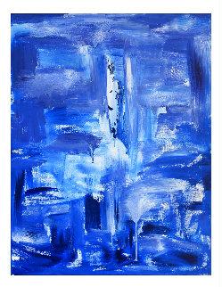 Tears 2019 48x36 Super Huge Original Painting - Frances Bildner