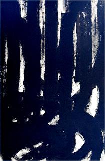 Vertical 2019 47x38 Huge Original Painting - Frances Bildner