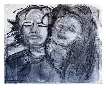 In Unison 2020 32x38 Original Painting - Frances Bildner