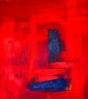 Fire 2020 36x30 Original Painting - Frances Bildner