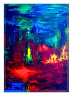 Freedom in Colour 2020 50x38 Super Huge Original Painting - Frances Bildner