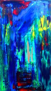 Forest 2020 54x26 Original Painting - Frances Bildner