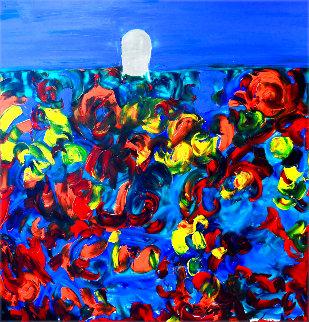 Organic Subconscious 2020 58x48 Original Painting - Frances Bildner