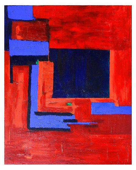 Colour Explosion 2 2020 54x44 Original Painting by Frances Bildner