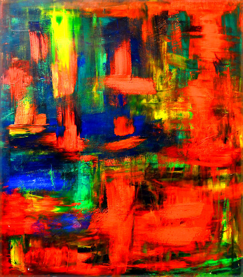 Fecundity 2020 58x48 Original Painting by Frances Bildner
