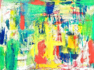 Vitality 2020 31x21 Original Painting - Frances Bildner