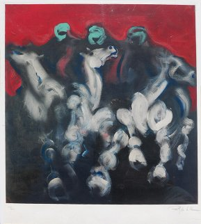 Bedouin Horsemen  2001 Limited Edition Print - Billy Dee Williams