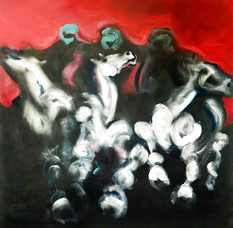 Bedouin Horsemen Limited Edition Print - Billy Dee Williams