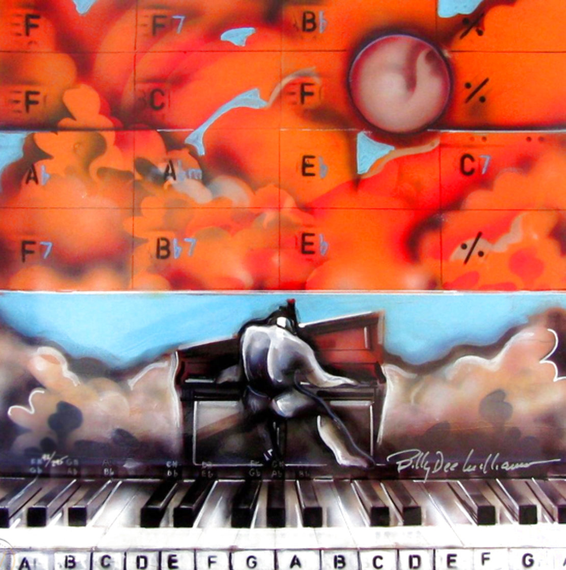 Jazz Chords 2006 Limited Edition Print by Billy Dee Williams