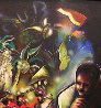 Good Times Jungle Club, The Savoy 1991 55x55 Original Painting by Billy Dee Williams - 1
