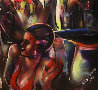 Good Times Jungle Club, The Savoy 1991 55x55 Original Painting by Billy Dee Williams - 3