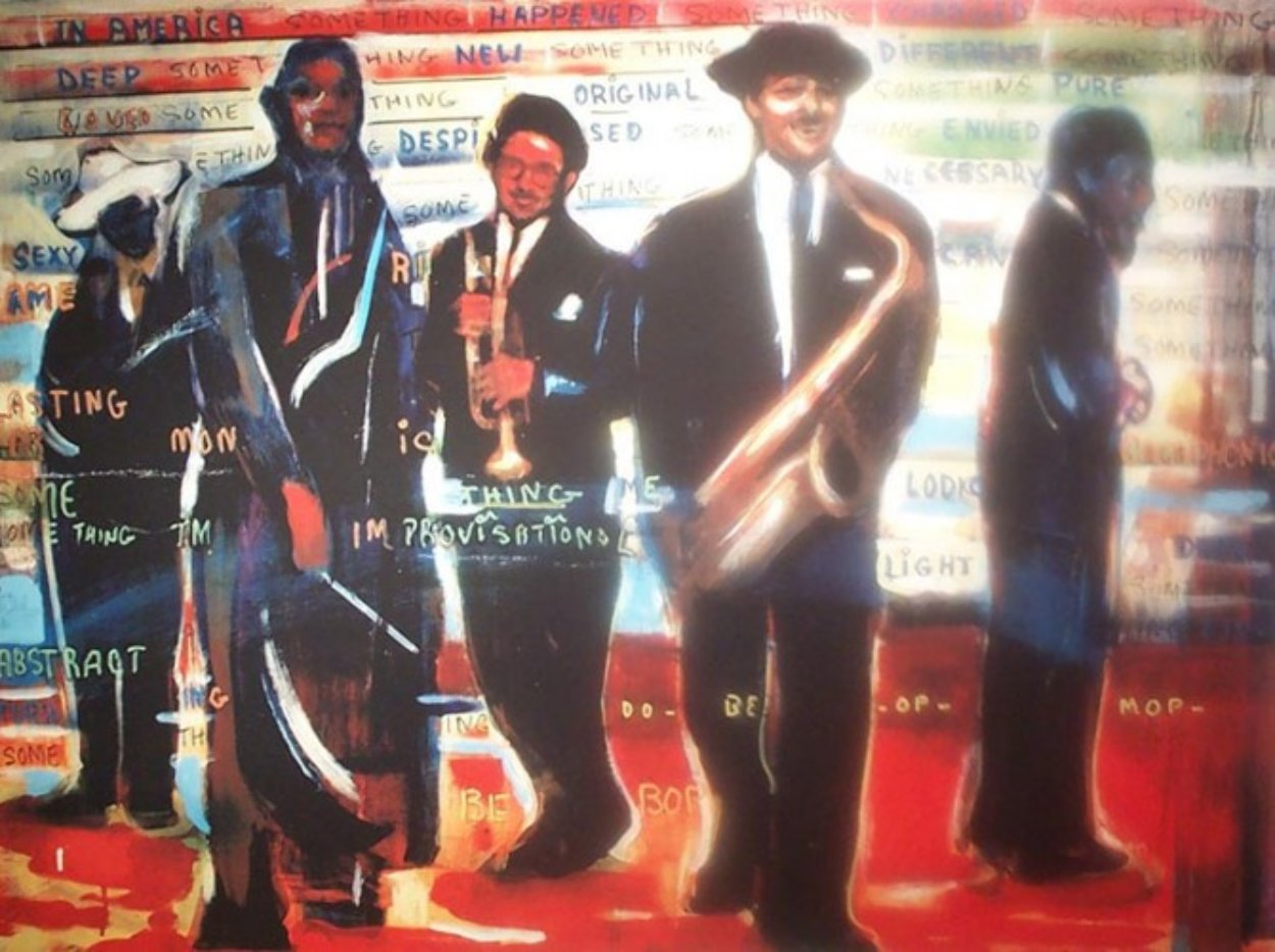 Bebop AP 2001 40x52 Limited Edition Print by Billy Dee Williams