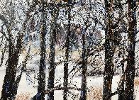 Hidden 2005 36x48 Super Huge Original Painting by JoAnne Bird - 0