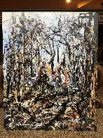 Untitled Landscape 30x24 Original Painting by JoAnne Bird - 1