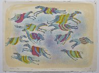 A Dream of Flying Ponies 1978 Limited Edition Print by Earl Biss - 1