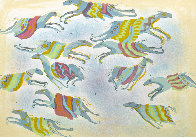 A Dream of Flying Ponies 1978 Limited Edition Print by Earl Biss - 0
