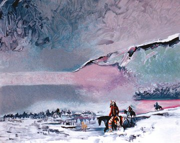 Warshield's Winter Vision 1987 Limited Edition Print by Earl Biss