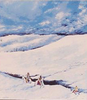 Windy Point 1983 Limited Edition Print by Earl Biss