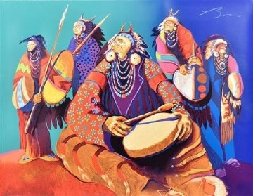 Rhythm of the Restless  1989 Limited Edition Print by Earl Biss