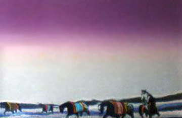 Twilight Rounup 1985 Limited Edition Print by Earl Biss