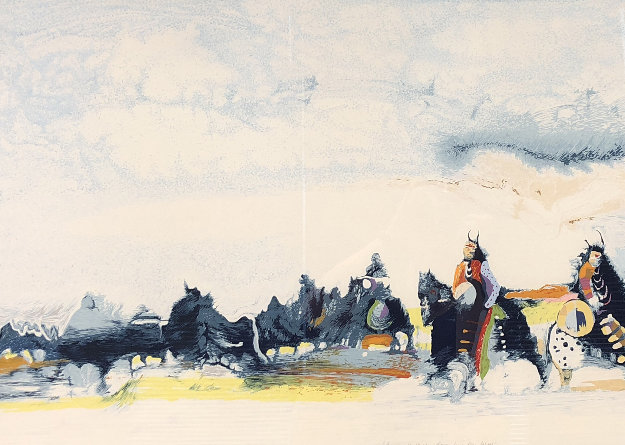 Bringing the Children Home From Star School 1987 Limited Edition Print by Earl Biss
