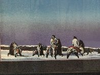 Horse Thieves At Dusk 1985 Limited Edition Print by Earl Biss - 6