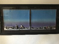 Horse Thieves At Dusk 1985 Limited Edition Print by Earl Biss - 2