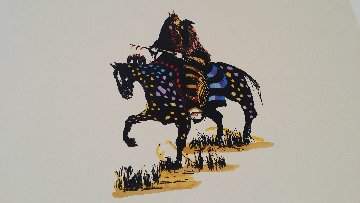 Stalking With Medicine That Speaks Like Thunder Limited Edition Print by Earl Biss