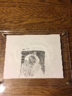 Soal Chief 1994 11x14 double sided Drawing by Earl Biss - 1