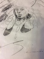 Soal Chief 1994 11x14 double sided Drawing by Earl Biss - 4