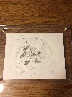 Soal Chief 1994 11x14 double sided Drawing by Earl Biss - 3